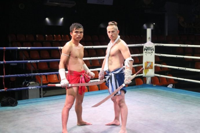 Traditions Muaythai.Prajioud